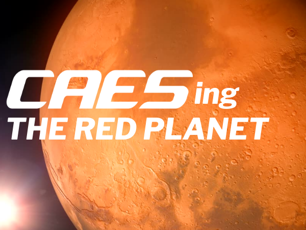caesing the red planet